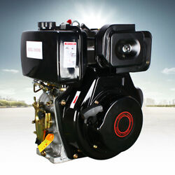 Vertical Diesel Engine 4stroke 10hp 406cc Air-cool Single Cylinder Recoil Engine
