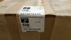 Ross Controls 3573a7863w Pneumatic Air Safety Double Solenoid Valve 24 Vdc B...