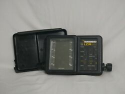 Humminbird Lcr 4000 Fishfinder - Head Unit And Cover Only Untested 2e1