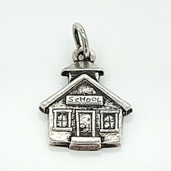 James Avery Sterling Silver School House Charm Dg7008237