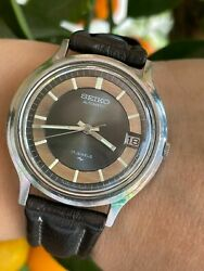 Seiko Watch 7005-7110 Automatic Date Mens 36mm Special Dial Just Serviced