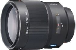 Sony Sonnar T135 Mm F 1.8 Za Sal135f18z From Japan 100 Genuine Product