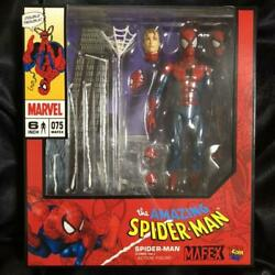The Amazing Spiderman Comic Version Action Figure Mafex No.075 Free Ship Japan