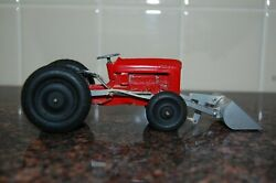 Vintage Tootsie Toy Ford Tractor With Scoop