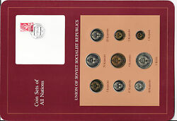 Coin Sets Of All Nations Ussr Russia All 1976 20 Kopeck Unc W/card Cat -600+