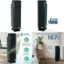 Germ Guardian True Hepa Filter Air Purifier With Sanitizer, Eliminates Germs, F