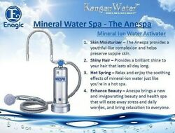 Brand New Enagic Anespa Dx Mineral Ion Water Shower Spa