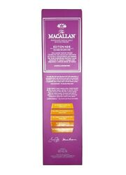 Empty Bottle Macallan Edition No.5 With Box Scotch Whisky Liquor Whiskey