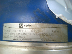 Alpha Sp140y-mf1-5-4k1-2s Precision Planetary Gearbox - Used