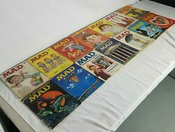 Mad Magazine Lot 1957, 58, 59, 60 And 61 14 Lot