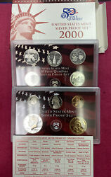 2000 Silver Us Proof Set