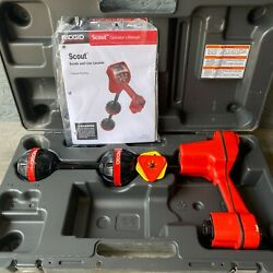 Ridgid Scout Navitrack Sonde And Line Locator With Case And Manual