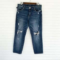 Rock And Republic Indee Distressed Jeans Size 12
