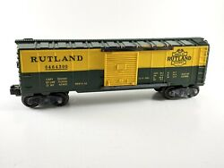 Lionel 6464-300 Rutland Boxcar Type Iia Rubber Stamped Very Nice 1955 Vintage
