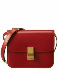 Celine Teen Classic Leather Shoulder Bag Womenand039s