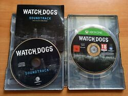 Ultra Rare Watch Dogs Xbox One Steelbook+cd Promo Ost Soundtrack - Free Shipping