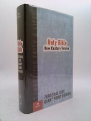 Ncv Personal Size Giant Print Bible By Thomas Nelson Publishing Staff