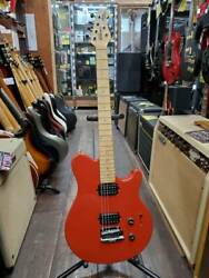 Music Man Axis Sport Hh Tremolo Red Made In Usa 1999 Electric Guitar U1549