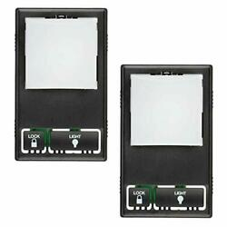 2 Multi-function Wall Keypad Control Panels For Liftmaster 41a5273-1 78lm