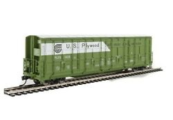 Walthers Proto - Ho Scale 56and039 Thrall All-door Boxcar - Us Plywood 1420