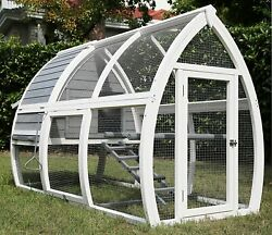 Pet Imperial® Grey Dorchester Large Chicken Coop Hen Poultry Ark House Run Nest