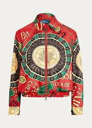 Polo X-small Red Casino Jacket Limited Rrl Rugby Roulette Las Vegas