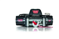 Warn 103254 Vr Evo 12 Electric 12v Dc Winch With Steel Cable Wire Rope 3/8