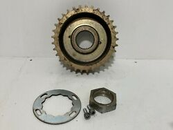 2006 Victory Vegas Front Drive Belt Pulley, Front Sprocket 8-ball Oem