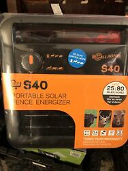 G345404 S40 Solar Fence Charger - Quantity 1