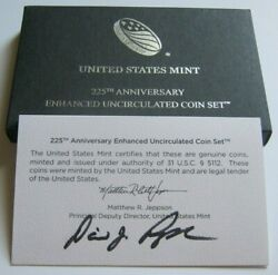 2017-s Rare Enhanced Unc Coin Sethand Signed By U.s. Mint Director David Ryder