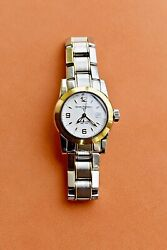 Girard Perregaux Ladies Watch. Stainless/gold Lady F Model. New Andpound4k+.