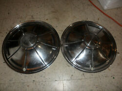 1970's Dodge Plymouth Duster - 14 Vintage Hubcaps