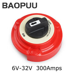 32v 4 Position Dual Battery Selector Switch On Off For Marine Boat Rv Vehicles