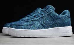 Nike Air Force 1 Low Premium Andldquostained Glassandrdquo At4144-300 New-no Box Menandrsquos 11.5