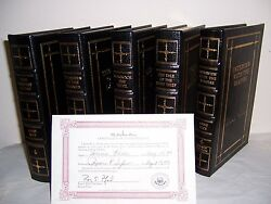 Easton Press Signed Vampire Chronicles Anne Rice 5 Vols Interview Lestat Queen