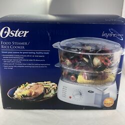 Oster Food Steamer Rice Cooker Model 5713 6.1 Qt Complete Drip Tray Bowl Lid