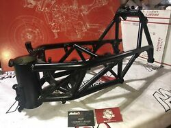 Ducati 996 Frame Body Chassis Powercoated Black Super Nice Clean Paperwork