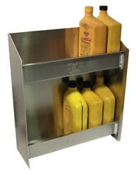 Pitpal Products Junior Oil Cabinet Trailer Holds 12 Quarts Of Oil Aluminum New