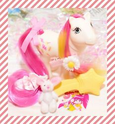 ❤️my Little Pony Mlp G1 Vintage Pretty Mane Pony Scribbles And Brush Mail Order❤️