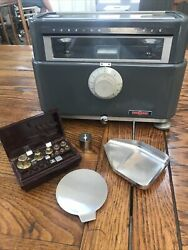 The Torsion Balance W.h. Curtin And Co. Balance Scale With Weights