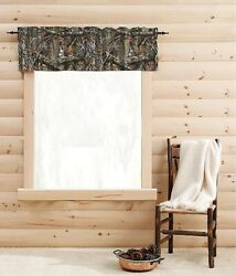Realtree Edge Tapestry Valance Curtain Country Cabin Camp Hunting Lodge