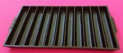 Rare Erie No 22 954 Pre-griswold Cast Iron Bread Stick Pan Cleaned And Restored