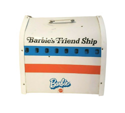 Vintage 1972 Barbie Friend Ship United Airlines Airplane Plane Play Set Case Toy