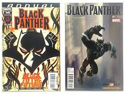 Black Panther Annual 1 Marvel 2008 - First Shuri As Bp And Disney 2016 1