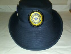 Vintage American Legion Auxiliary Womanand039s Hat With Pins Size Small