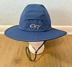 Outdoor Research Sombriolet Sun Hat Blue Adult Medium Boonie Bucket Fishing NEW $34.90