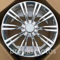 20 New Twin 10 Spoke Forged Style Wheels Rims For Mercedes Benz W222 S Class