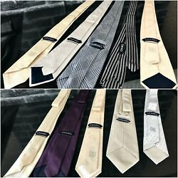 Ultrarare And Great Ties - Lot Of 10 Pieces Of Ties -