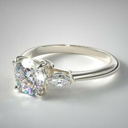 0.70 Ct Round Real Diamond Solid 950 Platinum Wedding Women Rings Size Selective