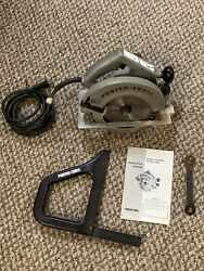 Porter Cable Circular Saw Model 617 Builders Saw With Handle Set Accessory